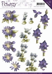3D Knipvel Precious Marieke CD10669 Flowery Mixed flowers