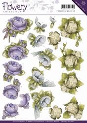 3D Knipvel Precious Marieke CD10667/HJ Flowery Floral Corner