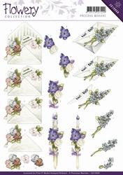 3D Knipvel Precious Marieke CD10668 Flowery Flower gift