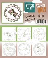 Stitch & Do Cards only COSTDO10017 set 17