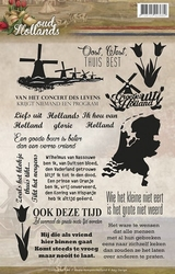 Amy Design Clearstamp ADCS10006 Oud Hollands