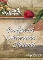 Amy Design Die Oud Hollands ADD10050 Groetjes uit Nederland