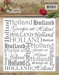 Amy Design Embossing Folder ADEMB10005 Oud Hollands
