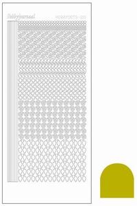 Stickervel Hobbydots Mirror STDM19E Yellow