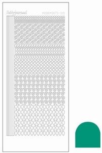 Stickervel Hobbydots Mirror STDM19I Emerald