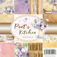 Wild Roses Studio Paper Pack PP049 Poet`s Kitchen