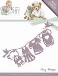 Amy Design Die Baby Collection ADD10053 Clothes line/waslijn