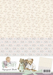 A4 Background Paper Amy Design ADPP10011 Baby Collection