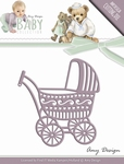 Amy Design Die Baby Collection ADD10054 Baby Carriage