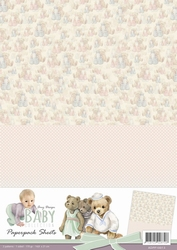 A4 Background Paper Amy Design ADPP10013 Baby Collection
