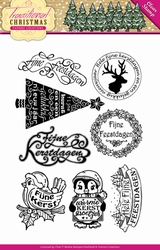 Stempel Yvonne Creations YCCS10022 Traditional Christmas