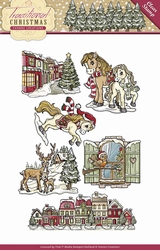 Stempel Yvonne Creations YCCS10021 Traditional Christmas