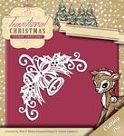 Yvonne's Die YCD10052 Traditional Christmas Bell Corner/hoek