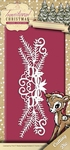 Yvonne's Die YCD10055 Traditional Christmas Holiday Garland