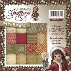 Amy Design Paperpack ADPP10014 Christmas Greetings
