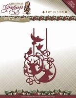 Amy Design Die Christmas Greetings ADD10069 Rendier Ornament