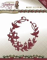 Amy Design Die Christmas Greetings ADD10068 Ornament