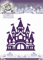 Yvonne's Die YCD10042 Magical winter Castle/kasteel