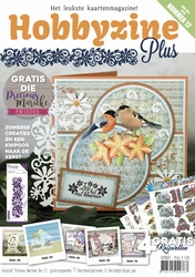 Hobbyzine Plus 12 + Precious Marieke Die PM10065 FlowerSwirl
