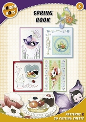 Hobbydots  6 - Spring Book + 11 stickers