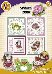 Hobbydots  7 - Spring Book + 9 stickers