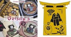 Set geisha`s