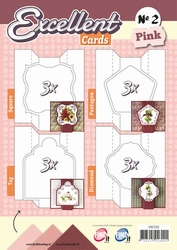 Excellent Cards 2 EXCC02 Pink/roze