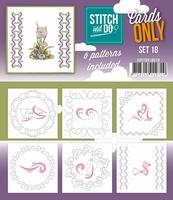 Stitch & Do Cards only COSTDO10018 set 18
