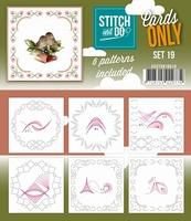 Stitch & Do Cards only COSTDO10019 set 19