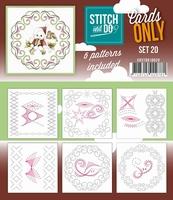Stitch & Do Cards only COSTDO10020 set 20