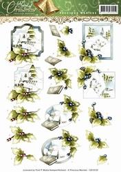 3D Knipvel Precious Marieke CD10733-13701 Spirit of Christma