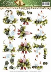 3D Knipvel Precious Marieke CD10735 Spirit of Christmas