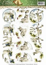 3D Knipvel Precious Marieke CD10734 Spirit of Christmas