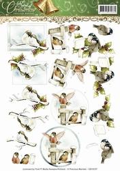 3D Knipvel Precious Marieke CD10737 Spirit of Christmas