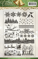 Precious Marieke's Clear Stamp PMCS10012 Spirit of Christmas