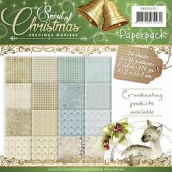 Precious Marieke's Paperpack 10011 Spirit of Christmas