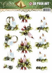 3D Stansvel Precious Marieke SB10116 Spirit of Christmas