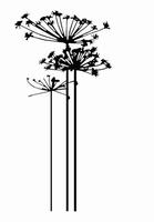 Nellie`s Embossingfolder EFE001 Condoleance bloemen 1