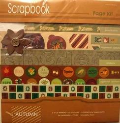 Hobby & Crafting fun 12110-1011 Scrapbook herfst