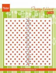 MD Design folder DF3427 Little Stars + 1 Die extra