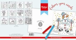 MD Papier blok PK9137 Colour your cards Christmas