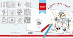 MD Papier blok PK9137 Colour your cards Christmas