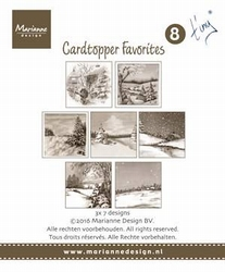 MD Card toppers sepia favourites CT1506 Mattie 2