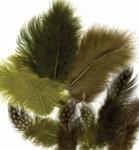 Veren Marabou & Guinea Fowl mix 12229-2908 Ass.Mix,Forest