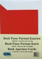 Kaarten Tophobby TP-004 Boek rood