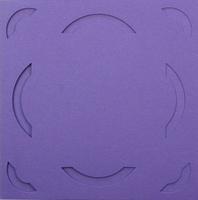 Vierkante Stans Kaarten Tophobby TK-23 boogje paars