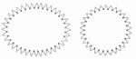 Spirelli stansen SP 2503 rond & ovaal grijs/wit/zwart