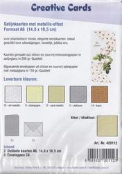 Creative Cards Satijnkaarten 420122 Wafel