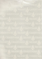 A4 Karton Merry Christmas 39017 Ivoor