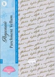 A4 Pergamano 1636 Perkament vellum tekst